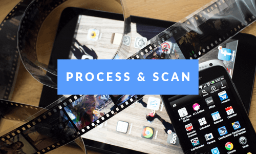 Analogue Photo Processing and Scanning